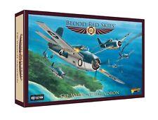 New Warlord Games Blood Red Skies US F4F Wildcat Squadron Set