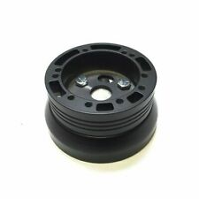 1955 -1956 Chevy Cars Black Billet Adapter, fits 5 & 6 Hole Wheels, Grant, MOMO