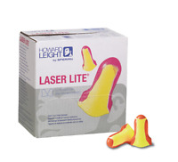 Howard Leight LL1 Laser Lite Foam Uncorded Ear Plugs Orange / Yellow - 200 Pairs