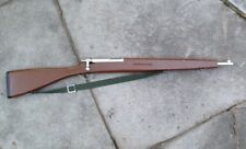 "Classic Wood Toy M1903 Springfield Full Size 42"" Painted Parade Trainer Rifle"