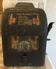 1930's Garden City Bar Boy Beer Gumball Trade Stimulator Simulator