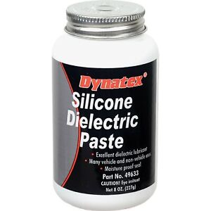 Dynatex Silicone Dielectric Paste; 8oz Brush Top Bottle for Universal