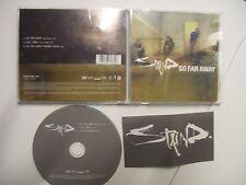 STAIND So Far Away – 2003 UK/EU DVD Single + Sticker! – Nu Metal, Rock – RARE!