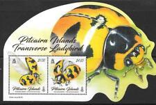 PITCAIRN ISLANDS 2017 LADYBIRDS M/S  MNH