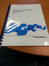 BLACKBERRY TORCH 9800 FULL PRINTED USER GUIDE INSTRUCTION MANUAL 327 PAGES A5