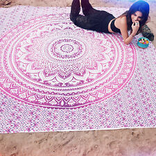 Indian Ombre Hippie Tapestries Mandala Large Wall Hanging Gypsy Throw Tapestry