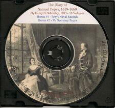 The Diary of Samuel Pepys 1659-1669, In Ten Volumes