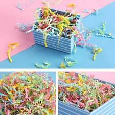 Pack 30g Crinkle Cut Shredded Tissue Paper Candy Box Packaging Filler Supplies