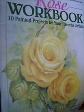 Rose Workbook Painting Book -10 Projects- Wreaths, Baskets