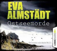 EVA ALMSTÄDT - OSTSEEMORDE - GELESEN VON ANNE MOLL   6 CD NEW