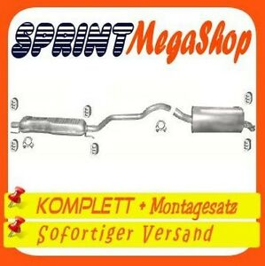 Opel Zafira B 1.9 CDTi 74 / 88 / 110 KW ab 2005 Auspuff Auspuffanlage 0139