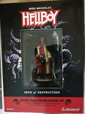 Hellboy Seed Of Destruction Book And Figure Set Dark Horse New