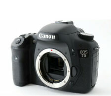 Canon EOS 7D 20.2MP Digital SLR Camera (Body Only) Battery & Strap