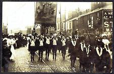 1907 Preston St Ignatius Catholic Processions F Cooper Postcard 8971