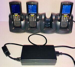 4-Slot Charger for Motorola MC3090 Rugged Handheld PDA Barcode Scanner/Computer