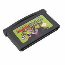 Deluxe Mario And Luigi Superstar Saga NM Cartridge GBA Game Card Kids SANTA