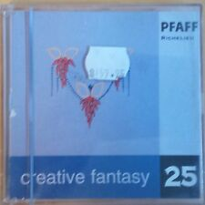 PFAFF 7560 Creative Fantasy Embroidery Card #25