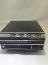 Vintage Channel Master Car/Truck 8 Track Stereo  6204 Wood Grain/black Untested