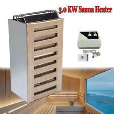 More details for electric sauna heater 3.0kw steam room sauna stove w/external controller for spa