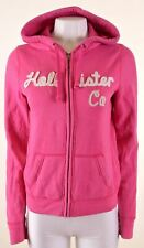HOLLISTER Womens Hoodie Sweater Size 14 Large Pink Cotton  LT11