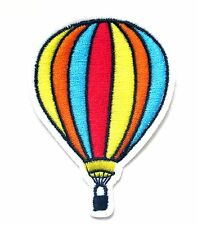 Hot Air Balloon Iron On Patch- Embroidered Badge Applique Sew Crafts