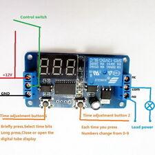 DC 12V LED Display Digital Delay Timer Control Switch Module PLC Automation c3