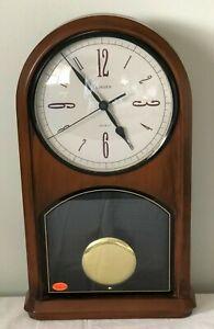LINDEN Pendulum Wall Clock Vintage Brand New with Original Box