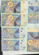 More details for nine different banknotes from macedonia in mint condition.