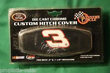 """DALE Earnhardt  Hitch Cover ~ (Metal Shaft) fits 2"""" & 1 1/4"""" Receivers"""