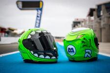 Monsters, Inc. HJC RPH11 Mike Wazowski Mens Street Motorcycle Helmet - MC-4