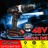 48V Electric Hammer Drill Cordless Drill Woodworking Tool Rechargeable 2