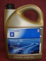 5 ltr. GM Genuine Motor Oil 5W30 dexos-2™ fuel economy Longlife / Opel /Motoröl