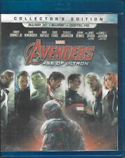 AVENGERS AGE OF ULTRON 3D (3D BLU-RAY DISC ONLY - 2015) GOOD USED ~ CHRIS EVANS