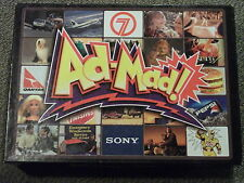 Ad-Mad The Board Game with Added Video Wacky Retro Vintage VHS Boardgame 1994