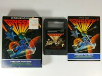 Magnavox Odyssey 2 Freedom Fighters! 1982 Videopac Complete Box Manual Cartridge
