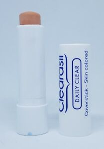 Clearasil Daily Clear Coverstick For Acne Pimple & Spot Skin Coloured 5g New