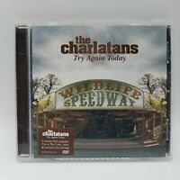 """THE CHARLATANS -""""Try Again Today""""- RARE Promo Only CD"""