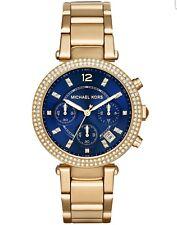 NWT's Michael Kors Women's Parker Chronograph Watch, On SALE REG MSRP $275 SHARP