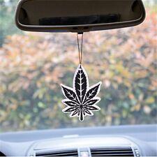 Black Maple Leaf Car Auto Air Freshener Perfume Leaf-Type Hanging Styling Decor