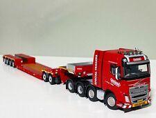 "Volvo FH4 Globetrotter 8x4, lowloader trailer ""Nooteboom""WSI truck models"