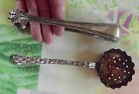 Paire de Saupoudreuse & Pince à Sucre de style Vintage Pattes de Lion