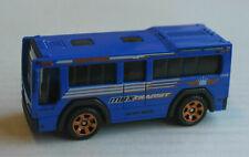 Matchbox City Bus MBX C.B.T. 801 blau ÖPNV Mattel Omnibus Autobus blue bleu blu