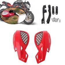 2xMotorcycle Hand Guards Handguard For Honda Yamaha Suzuki KTM ATV Dirt Bike Red