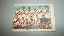 figurina card stickers CALCIATORI CARTONATA RASA 1961/62 SQUADRA MANTOVA