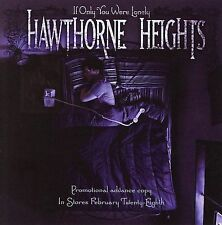 If Only You Were Lonely Hawthorne Heights Audio CD