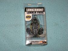 New Lunkerhunt Lunker Frog Croaker fishing lure