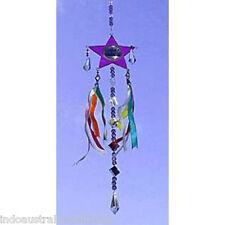 1 X  Beautiful Purple Star Shaped Light Catcher in Gift Box(SC015)