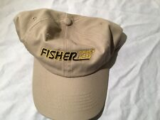 New Fisher Metal Detectors Tan Hat One Size Fits Most