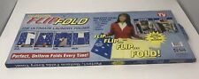 Genuine Original FLIP FOLD - Ultimate Laundry Folder - Perfect Folds Every Time