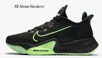 """Nike Air Zoom BB NXT """"Black/Lime Blast/V"""" Men's Trainers All Sizes Limited Stock"""